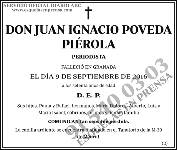 Juan Ignacio Poveda Piérola